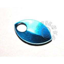 malé dračí šupiny modrá 1 ks