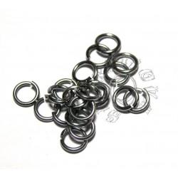 2,4/0,8 mm bal. 100 ks ocelová černá