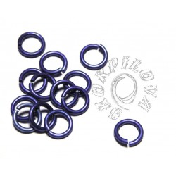 13/2 mm MAXI kroužek purple 10ks