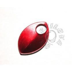 velké dračí šupiny červená 1 ks