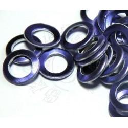"""Kolečkové výseky """" pětky"""" 100 ks purple"""