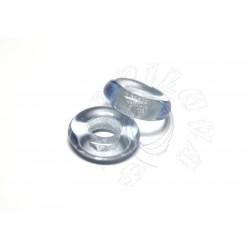 1 ks skleněný kroužek - modrý světlý transparentní