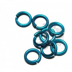 6,6/1,2 mm bal. 100 ks - modrá tyrkys