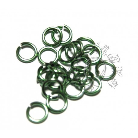 10/1,6 10 KS - zelená světlá lesklá mentolovoopál.