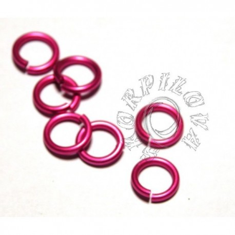 6,6/1,6 mm bal. 100 ks - růžová