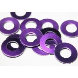 """Kolečkové výseky velké """" 12"""" 50ks - violet"""